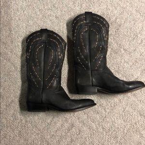 Frye 9 1/2 B cowboy boots.